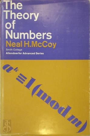The theory of Numbers - Neal H. McCoy