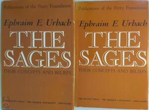 The Sages, Their Concepts and Beliefs - 2 Volume Set - Efraim Elimelech Urbach
