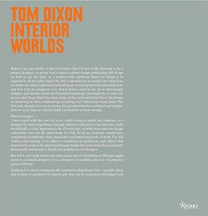 Tom Dixon -Interior Worlds - Tom Dixon