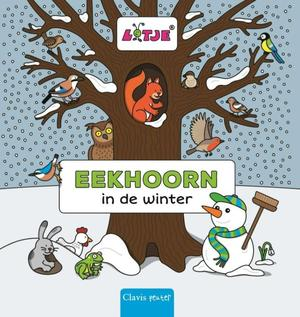 Eekhoorn in de winter - Lizelot Versteeg
