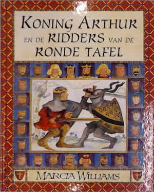 Ridders Aan De Ronde Tafel.Koning Arthur En De Ridders Van De Ronde Tafel De Slegte