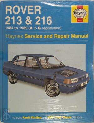 Rover 213 and 216 (Haynes Service and Repair Manual Series) -