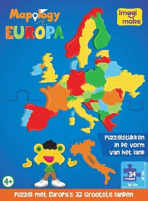 Mapology Europa Puzzel -