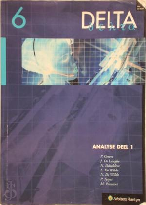 Delta 6 Analyse (6/8u) Deel 1 (incl. cd-rom) - P. e.a. Gevers