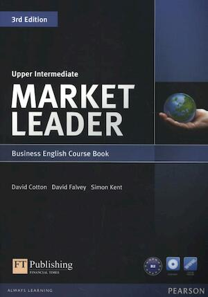 Market Leader Upper Intermediate Coursebook (with DVD-ROM incl. Class Audio) - David Cotton