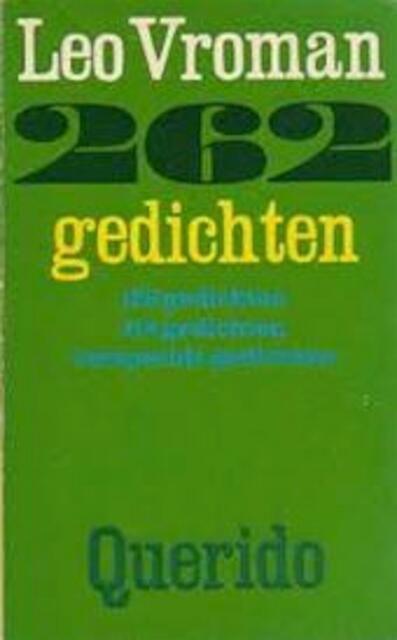 262 Gedichten Leo Vroman Isbn 9789021413938 De Slegte