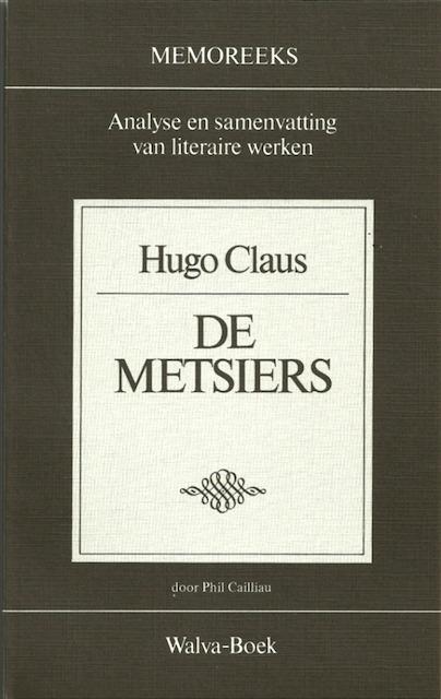 Hugo Claus De Metsiers Phil Cailliau De Slegte