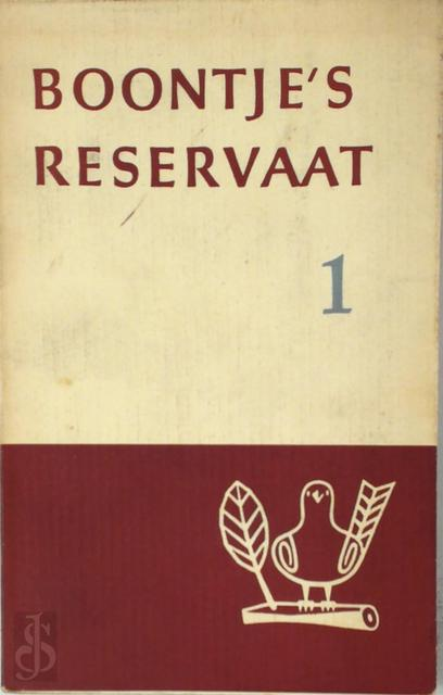 Boontje's reservaat 1 - Louis Paul Boon