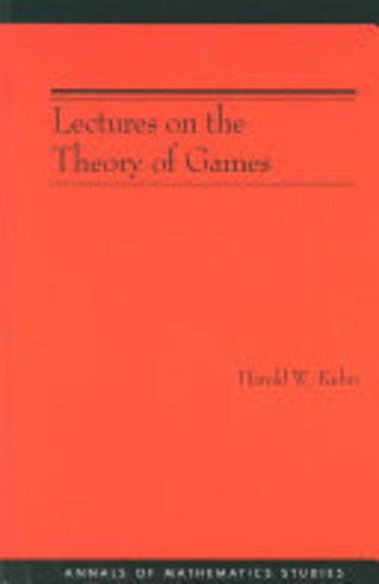 Lectures on the Theory of Games - Harold William Kuhn