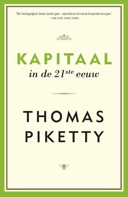 Kapitaal in de 21e eeuw - Thomas Piketty