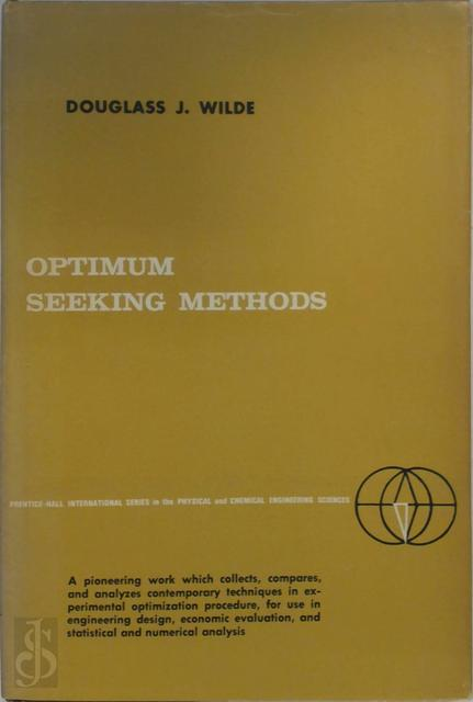 Optimum seeking methods - Douglass J. Wilde