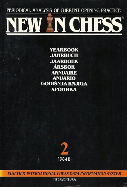 New in Chess Yearbook 2 1984 B - Unknown