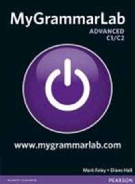 MyGrammarLab Advanced without Key and MyLab Pack - Diane Hall
