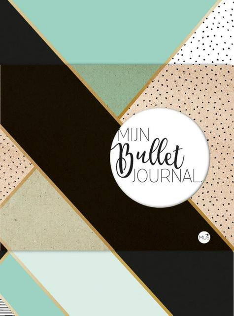 Mijn Bullet Journal - mint & goud - Nicole Neven