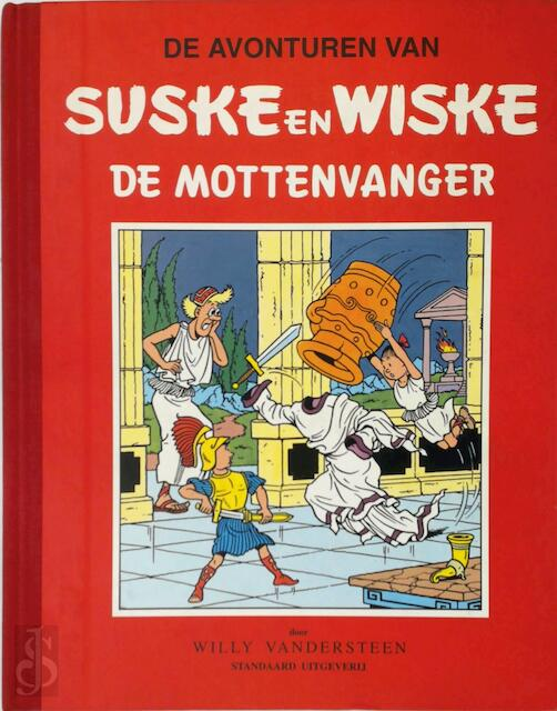 De mottenvanger - Willy Vandersteen