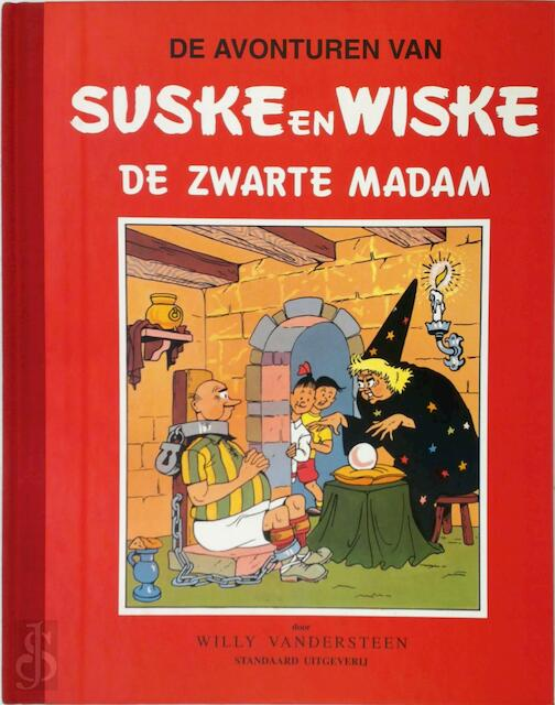 De zwarte madam - Willy Vandersteen