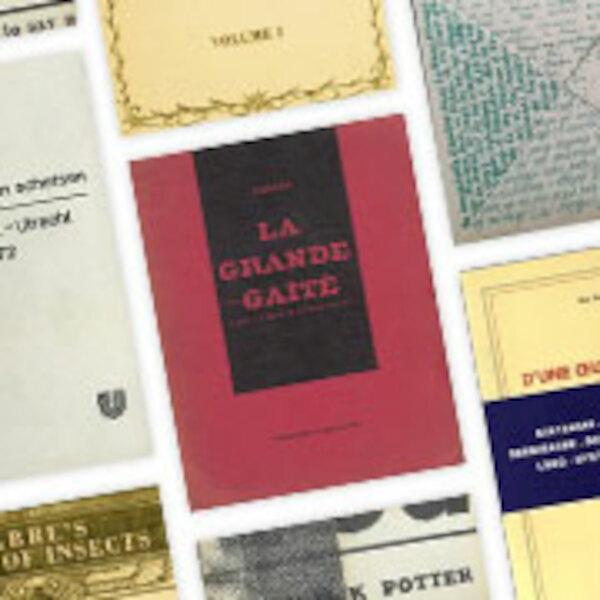 Avant garde & artist's books