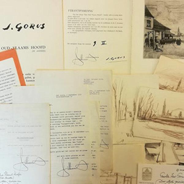 Brieven en boeken van Maurice Gilliams