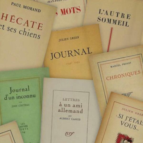 Franse literatuur in originele uitgave