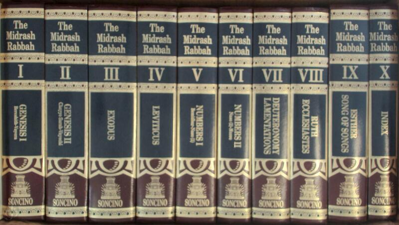 Midrash Rabbah - 10 volumes - Harry Freedman, Maurice Simon