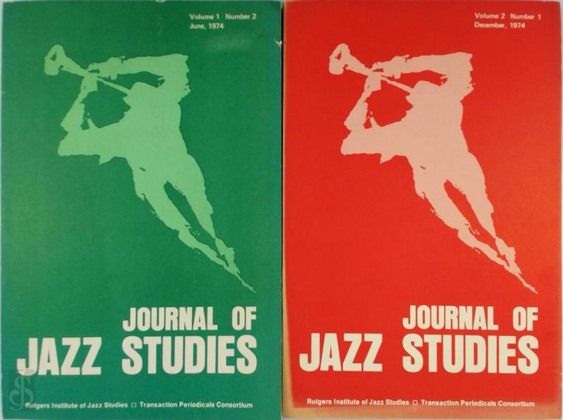Journal of Jazz Studies - 2 volumes -