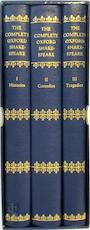 The complete Oxford Shakespeare (3 volumes)