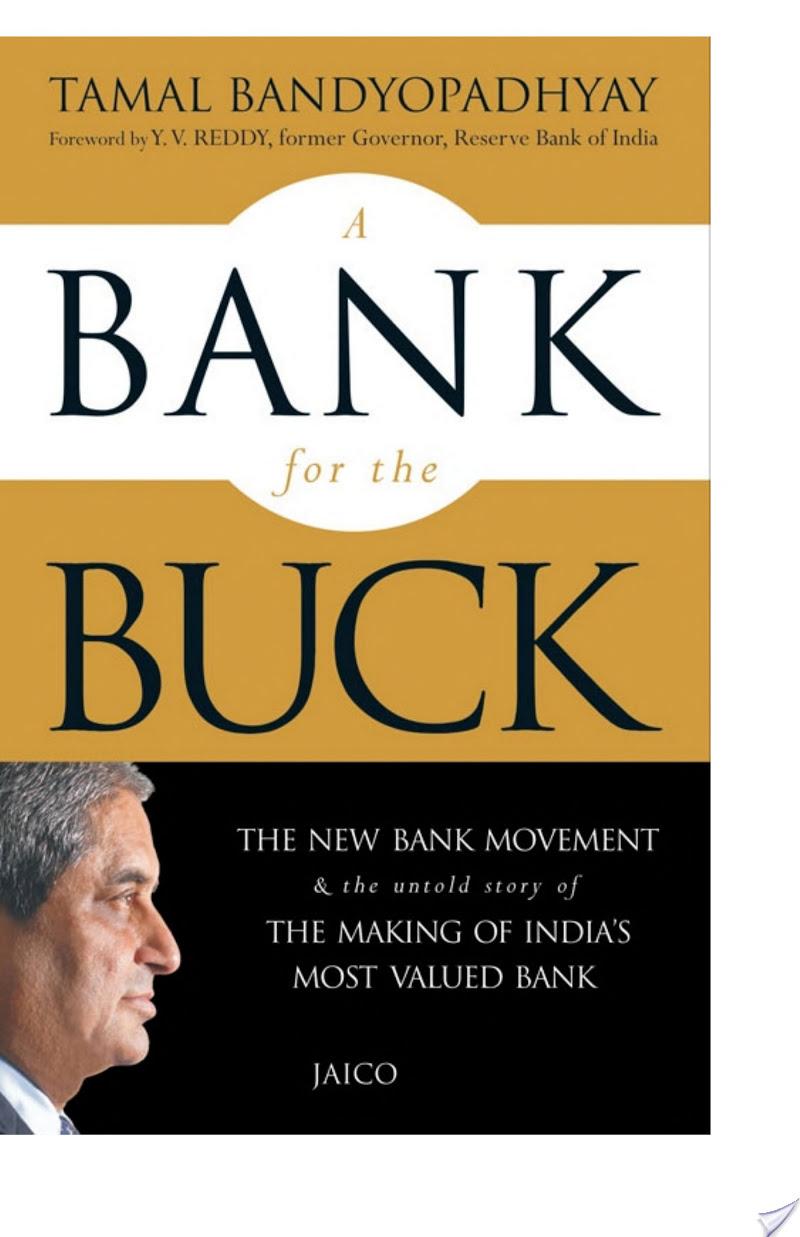 Tamal Bandyopadhyay - A Bank for the Buck