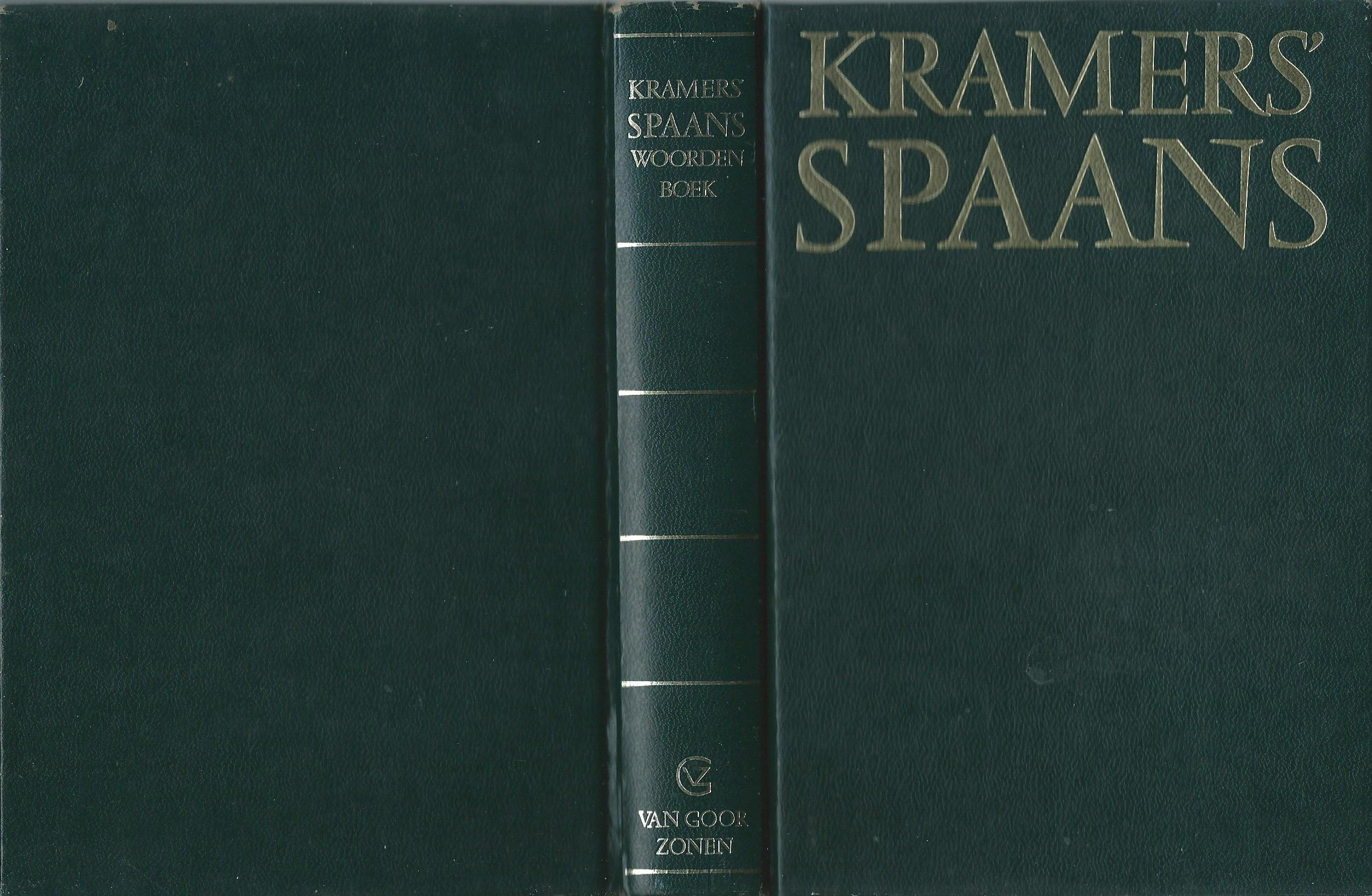 Kramers' woordenboek Spaans...