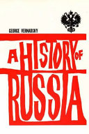 George Vernadsky - A History of Russia