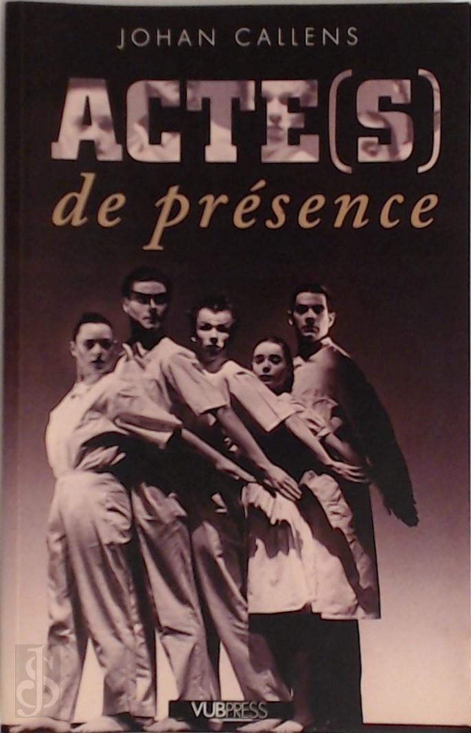 Acte(s) de presence teksten...