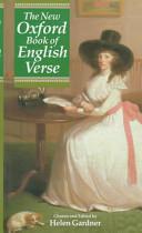 HELEN GARDNER - The New Oxford Book of English Verse