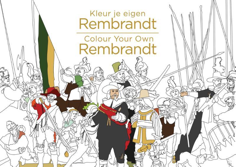 Kleur je eigen Rembrandt/Co...