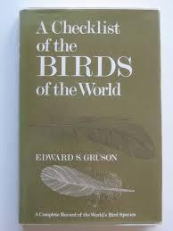 A checklist of the birds of...