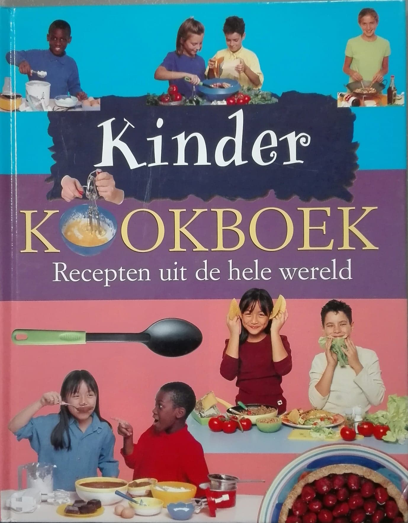 Kinderkookboek: recepten ui.