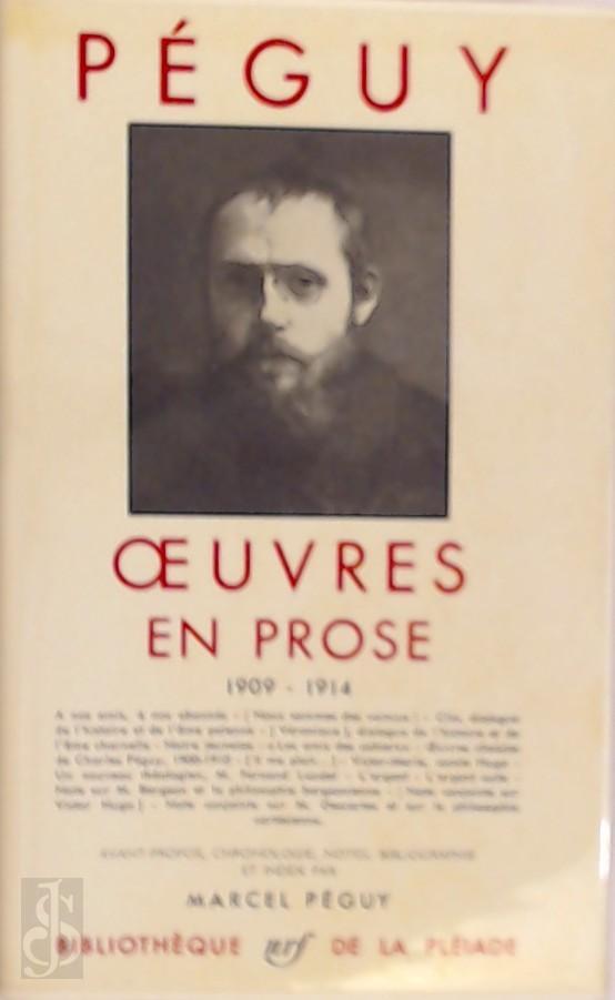 Oeuvres en prose 1909-1914