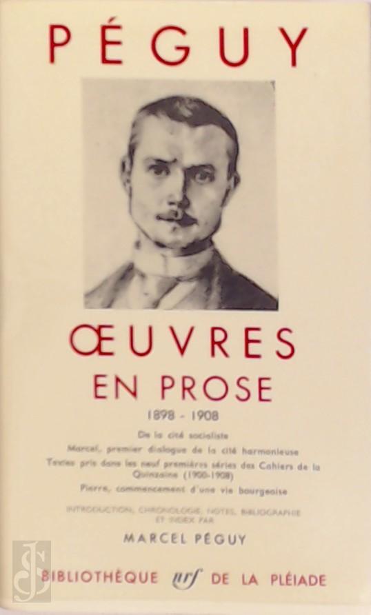 Oeuvres en prose 1898-1908