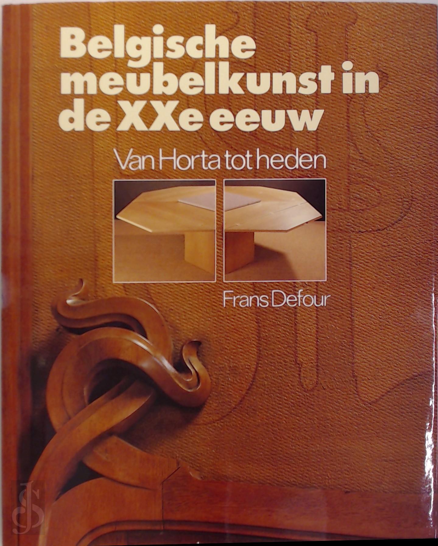 Belgische meubelkunst in de...