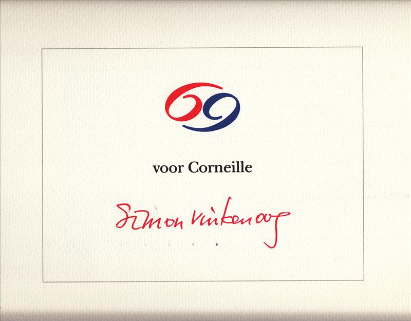 Corneille, Simon Vinkenoog - 69 voor Corneille De vrouwen van Corneille