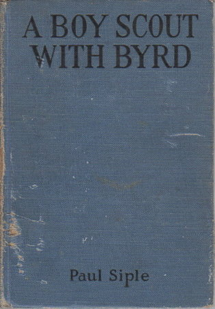 A boy scout with Byrd