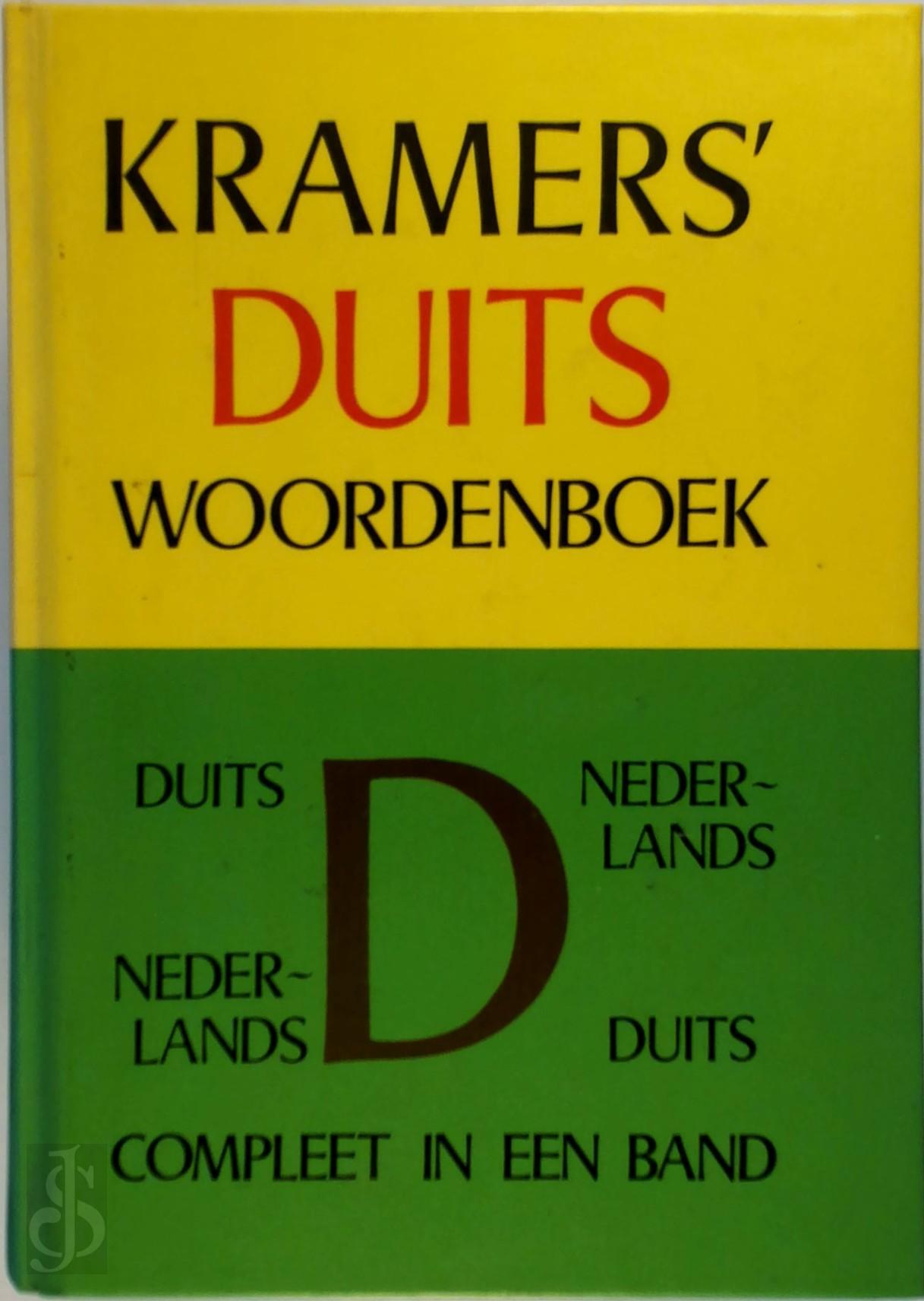 - Kramers duits woordenboek