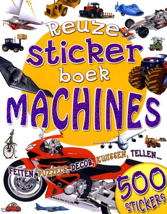 Unknown - Reuzestickerboek Machines