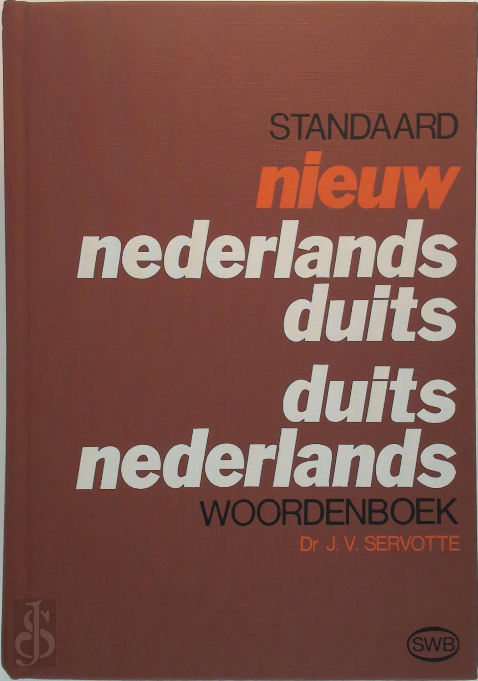 Nieuw nederlands-duits, dui...