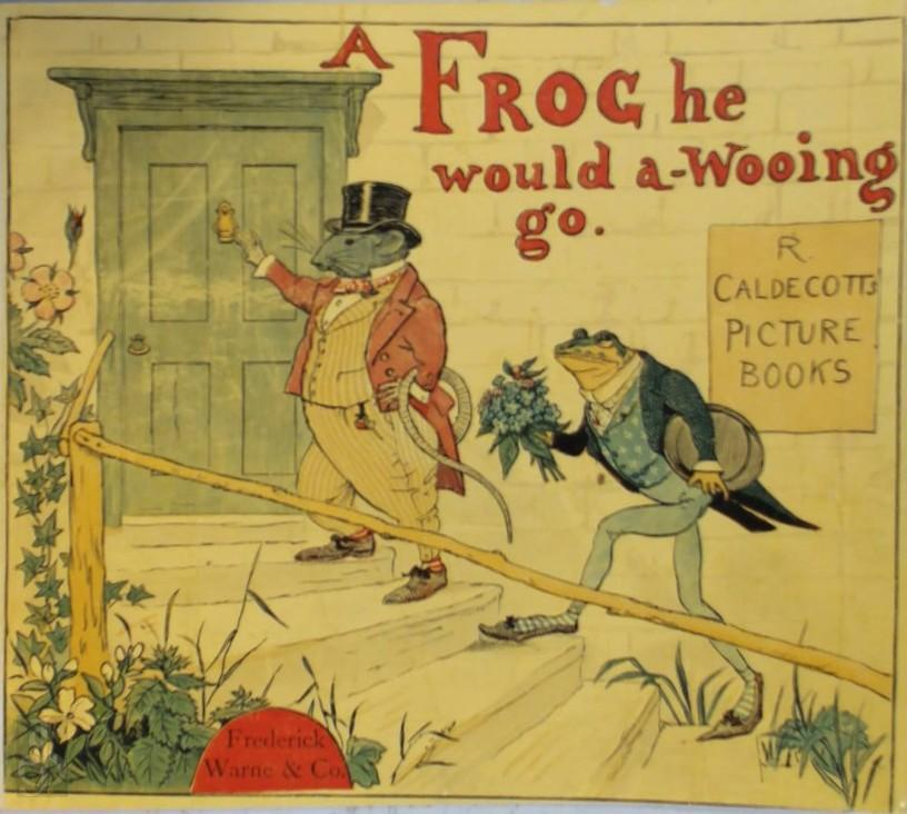 A frog he would a-wooing go.