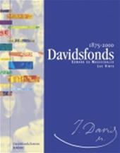 EDWARD DE MAESSCHALCK, LUC VINTS - Davidsfonds 1875-2000. 1875-2000