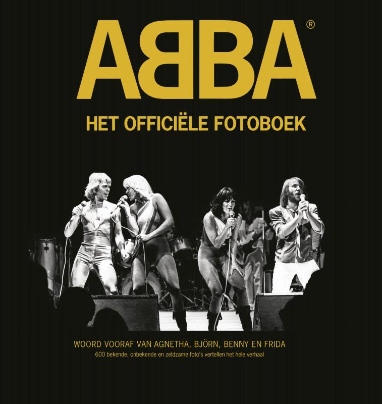ABBA the official photo boo...