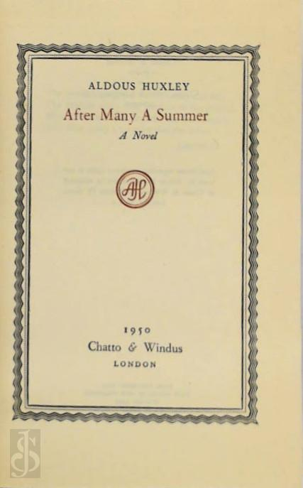 Aldous Huxley - After Many a Summer