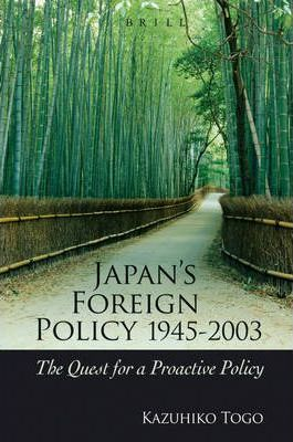 Japan's Foreign Policy, 194...