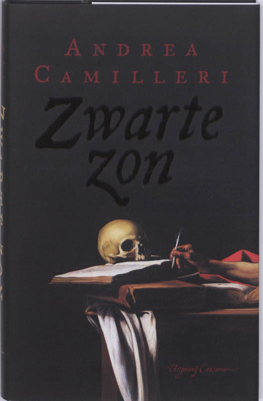 A. Camilleri - Zwarte zon historische roman over Caravaggio