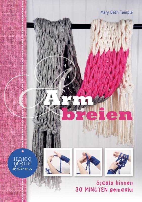 Mary Beth Temple - Armbreien sjaals binnen 30 minuten gemaakt!