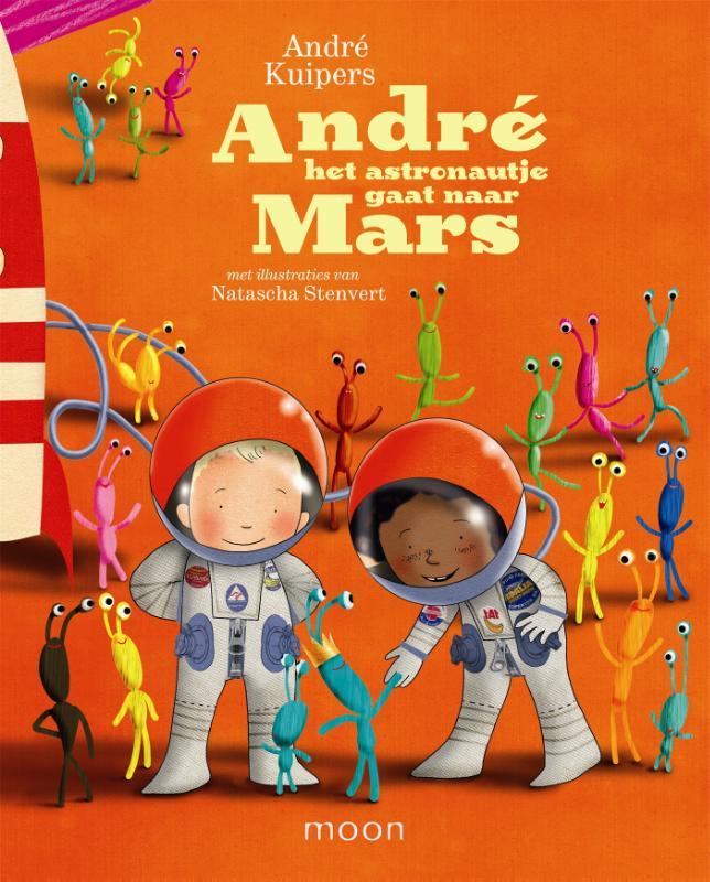 Andre het astronautje gaat ...